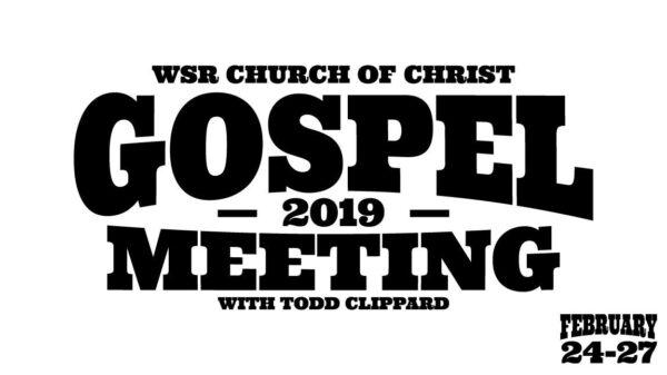 2019 Gospel Meeting